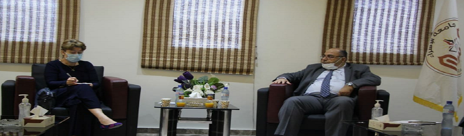 Sasha Botsuma ,WHO Direcector in Gaza, Vists ISUG
